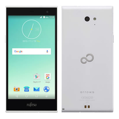 FARM0600E [arrows M02 Android 5.1搭載 5.0インチ液晶 SIMフリースマートフォン ホワイト]