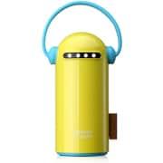 ET baby 6600 YC [USB2ポート リチウムイオン パワーバンク 6600mAh Yellow]