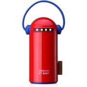 ET baby 6600 RC [USB2ポート リチウムイオン パワーバンク 6600mAh Red]