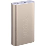 M9000T GOC [USB2ポート リチウムイオン モバイルバッテリー アルミニウムチタン合金 Gold]