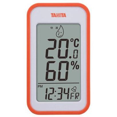 TT-559-OR [デジタル温湿度計 オレンジ]
