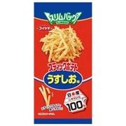 スリムバッグ スティックポテト うすしお味 40g [菓子 1袋]