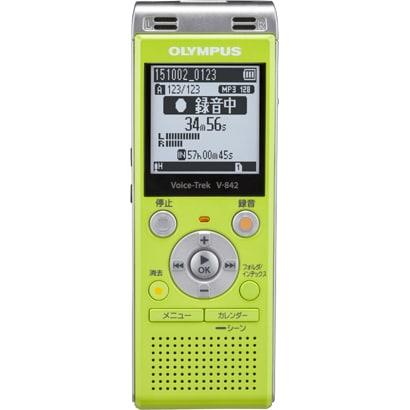 V-842 [ICレコーダー Voice-Trek 4GB ライムグリーン]