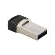 TS32GJF890S [USBメモリ 32GB USB Type-C&USB 3.1 Gen 1 Type-A スマートフォン&タブレット 対応 シルバー]