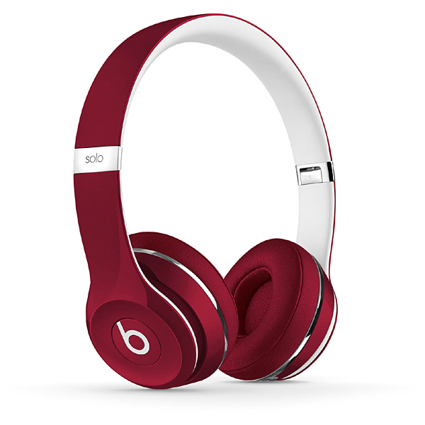 Beats by Dr. Dre Solo2 オンイヤーヘッドフォン(Luxe Edition)- レッド [ML9G2PA/A]