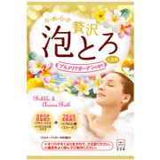 入浴剤 お湯物語 贅沢泡とろ 入浴料 プルメリアガーデンの香り 30g