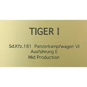 FS027 [WW2 ドイツ タイガーI 中期生産型]