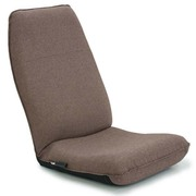 13hb-cbc313-br [腰に優しいレバー式ハイバック座椅子II ブラウン]