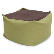 beads-flex-cushion-cbc313-gr [フレキシブルビーズクッション 洗濯できるカバー付き グリーン]