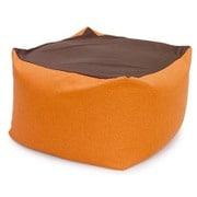 beads-flex-cushion-cbc313-or [フレキシブルビーズクッション 洗濯できるカバー付き オレンジ]