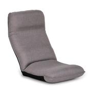 fr-head-mdn-sm460-gy [姿勢を保ち、腰をいたわるヘッドリクライニング座椅子FR グレー]