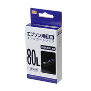 PP-EIC80LBK [エプソンICBK80L 互換インク ブラック]