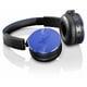 Y50BTBLU [密閉ダイナミック型 Bluetooth対応 ワイヤレスオンイヤーヘッドホン ブルー]