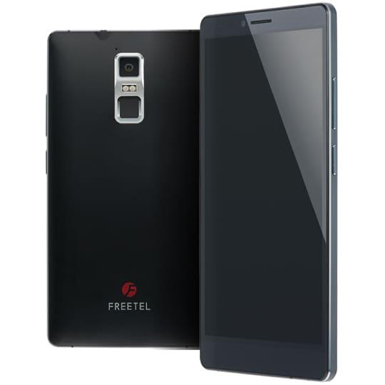 FTJ152D-Kiwami-BK [Android 5.1搭載 6.0インチ液晶 SIMフリースマートフォン SAMURAI 極(KIWAMI) 黒]