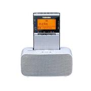 TY-SPR7(S) [ドック付ポケットラジオ シルバー ワイドFM対応]