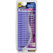 デイリー歯間ブラシ Lサイズ 20本入