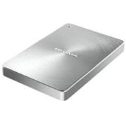 HDPX-UTC2S [USB 3.1 Gen1 Type-C対応 ポータブルハードディスク「カクうす」2.0TB シルバー]