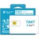 TAKT(タクト) [海外渡航者向けグローバルSIMカード(標準/micro/nano 3サイズ対応)]