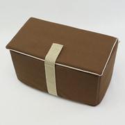 CIFD-SCCC [帆布インナーケースDタイプ 蓋付き チョコ]