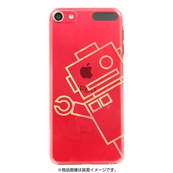 iPT6-P04 [iPod touch 6用ケース +Color ロボット]