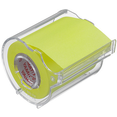 RK-50CH-LE [メモックロールテープ 蛍光カラー 50mm レモン]