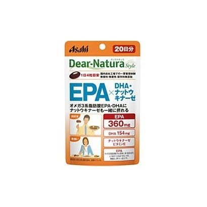 EPA×DHA ナットウキナーゼ 80粒入り 20日分