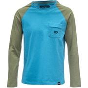 Long t-Shirt Steel blue M