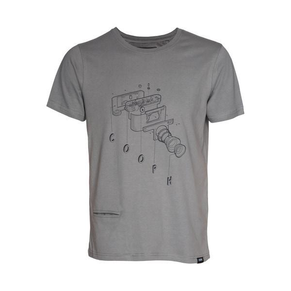 t-Shirt COOCAM Mud XXL [レンズキャップポケット付き Tシャツ サイズXXL マッド]