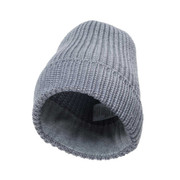 headwear pouch beanie KNIT heathergray [ポーチ機能付きビーニー帽 グレー]