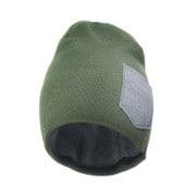 headwear winter beanie green/Heathergray [レンズキャップポケット付き ビーニー帽 冬用 グリーン]