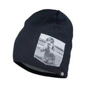 headwear beanies YOUNGRAPHER black [レンズキャップポケット付き ビーニー帽 ブラック]