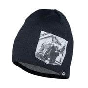 headwear beanies GIGAGRAPHER black [レンズキャップポケット付き ビーニー帽 ブラック]