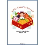 TM651 [2016年 申年 お年玉付年賀はがき4枚 カジュアルカラー]