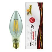 LDC3L-E17/C/22/B/D [LED電球 E17口金 2200K 250lm 調光 デコフィラメントベーシックキャンドルクリア]