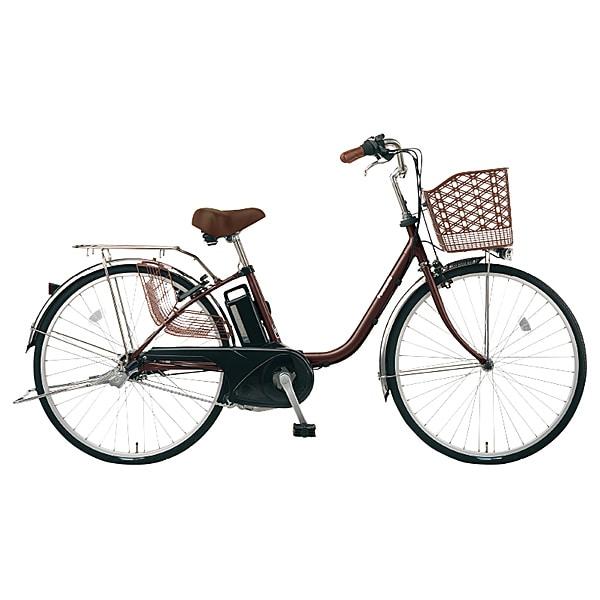 BE-ELTX63T [電動アシスト自転車 ビビ・TX 26型 内装3段変速 6.6Ah チョコブラウン]