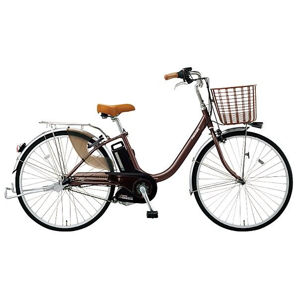 BE-ELDU03T [電動アシスト自転車 ビビ・ライト 20型 内装3段変速 6.6Ah チョコブラウン]