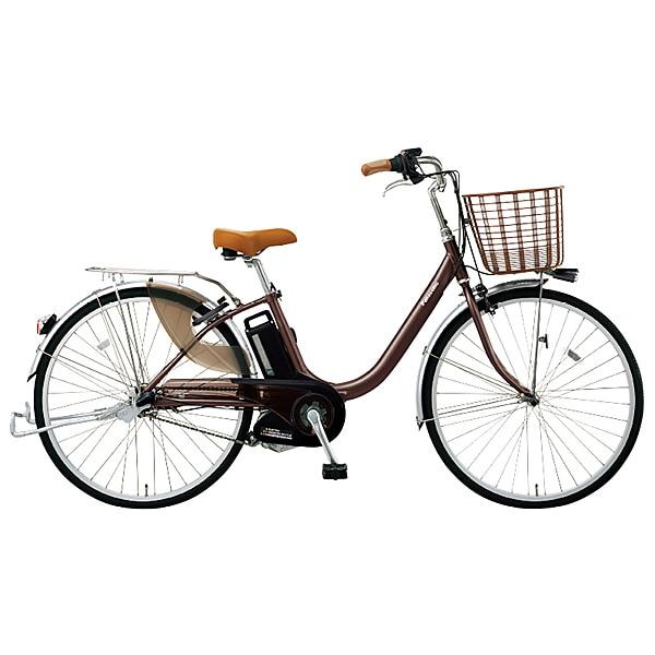 BE-ELDU63T [電動アシスト自転車 ビビ・ライト・U 26型 内装3段変速 6.6Ah チョコブラウン]