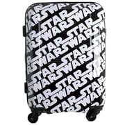 HAP2016-48 SW4 [ジッパーハードケース 36~41L STAR WARS(スター・ウォーズ) ロゴパターン ブラック]