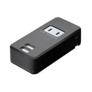 MBP-24AC/BK [USB-ACアダプタ ACコンセント搭載 ブラック]