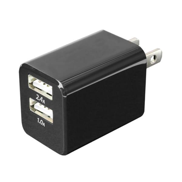 MBP-24U/BK [USB-ACアダプタ コンパクトタイプ ブラック]