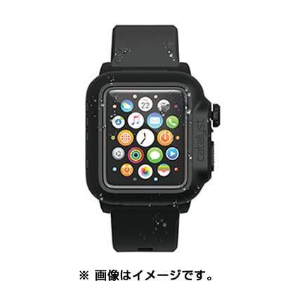 CT-WPAW15-BK [Apple Watch 42mm用 完全防水ケース ブラック]