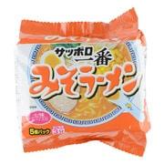 サッポロ一番 みそラーメン 100g×5食入り [即席麺]