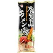 鹿児島ラーメン亭 とんこつ味 2人前スープ付 160g [棒状即席麺]