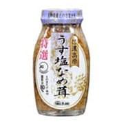 うす塩なめ茸 80% 180g [瓶詰]