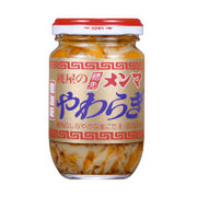 桃屋の穂先メンマやわらぎ 辣油味 115g [瓶詰]