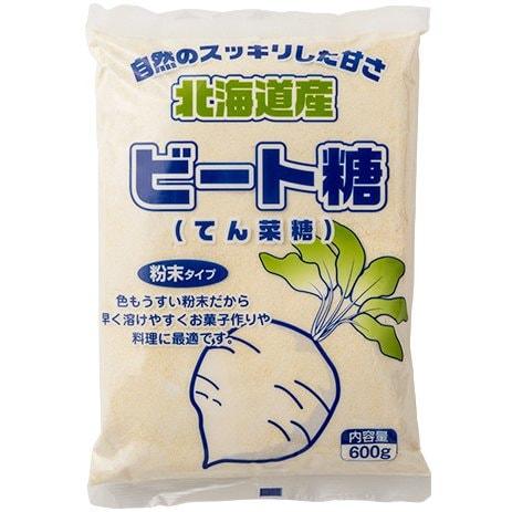 ビート糖(てん菜糖)粉末 600g