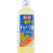 理研 一番搾りキャノーラ油 角ボトル