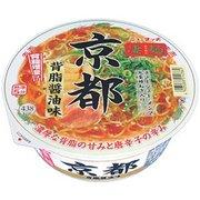 凄麺 京都背脂醤油味 124g [即席カップ麺]