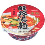 凄麺 黒香酢酸辣湯麺 110g [即席カップ麺]