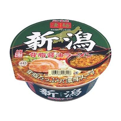 凄麺新潟背脂醤油ラーメン 122g [即席カップ麺]